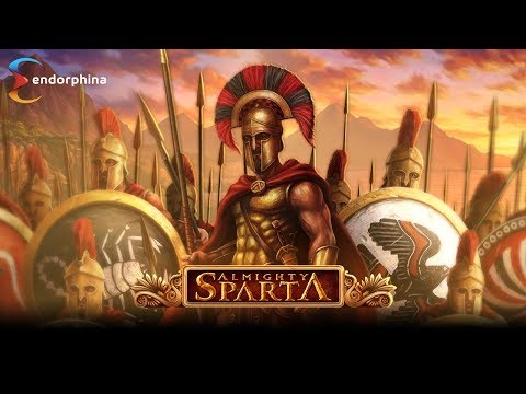 Almighty Sparta by Endorphina!