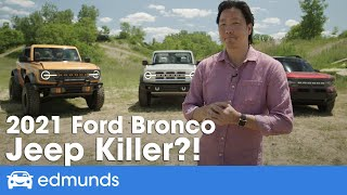 New Ford Bronco Reveal ― 2021 Ford Bronco and Bronco Sport, Price, Interior, Off-Road, Release Date YouTube Videos