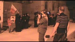 مسيرة يدا بيد كلنا راجعين وقمعها بوحشية وصمود الثوار في سترة القرية 10 2 2012