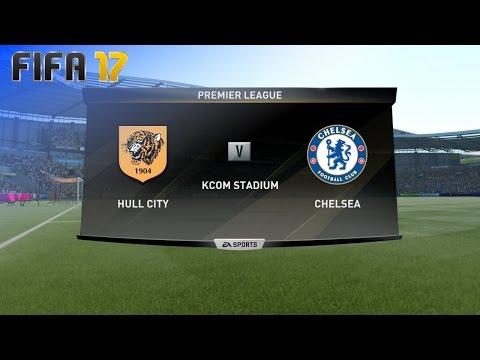 FIFA 17 - Hull City vs. Chelsea @ KCOM Stadium