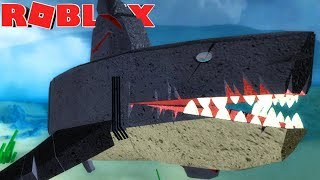 Dinosaur Simulator (Roblox) - Sombrio Megalodon, Turarão Gigante! - (#89) (PT-BR)
