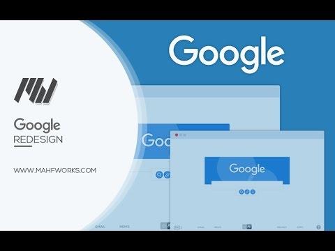 MahfWorks | Google Redesign - Speed Art #5