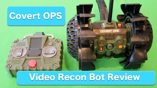 Spy Net Covert OPS Ultra Tuff Video Recon Bot Review