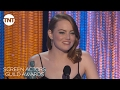 Emma Stone: Acceptance Speech | 23rd Annual SAG Awards | TNT video & mp3