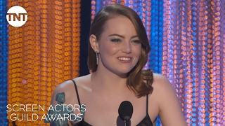 Emma Stone: Acceptance Speech | 23rd Annual SAG Awards | TNT
