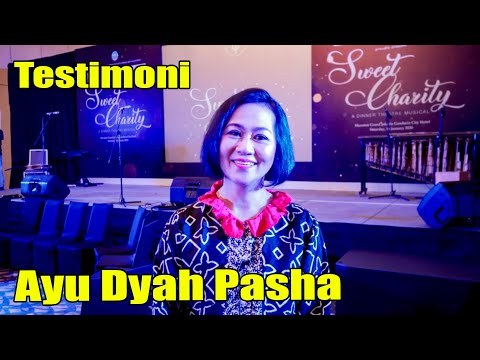 Ayu Dyah Pasha (Yayasan Prima Unggul Sweet Charity_ A Dinner Theatre Musical)
