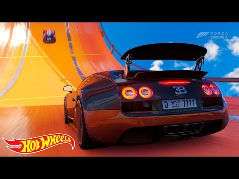 Forza Horizon 3 Bugatti Veyron Hot Wheels Goliath