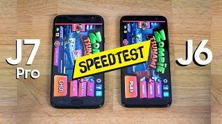 Speedtest Galaxy J6 và Galaxy J7 Pro: Chung cấu hình nhưng có cùng hiệu năng?