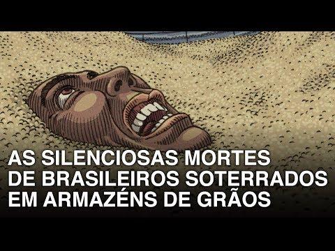 As silenciosas mortes de brasileiros soterrados em armazéns de grãos. Vídeo.
