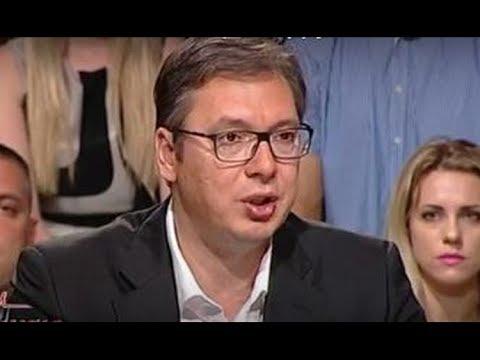 Cirilica: Aleksandar Vucic (TvHappy 10.07.2017.)