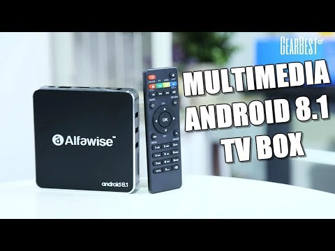 Alfawise A8 Android 8 1 TV Box Review