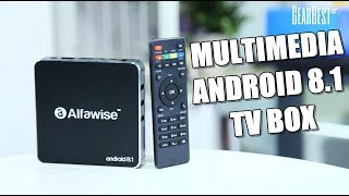 Android 8.1 TV BOX Alfawise A8 - GearBest