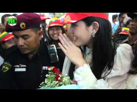 Thai Celebrities, Davika Hoorne & Mos Visit Yangon: Well-known Thai Stars, Davika Hoorne (Lead Actress from