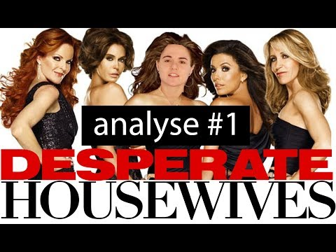 Desperate Housewives - Analyse #1 - Les Affiches