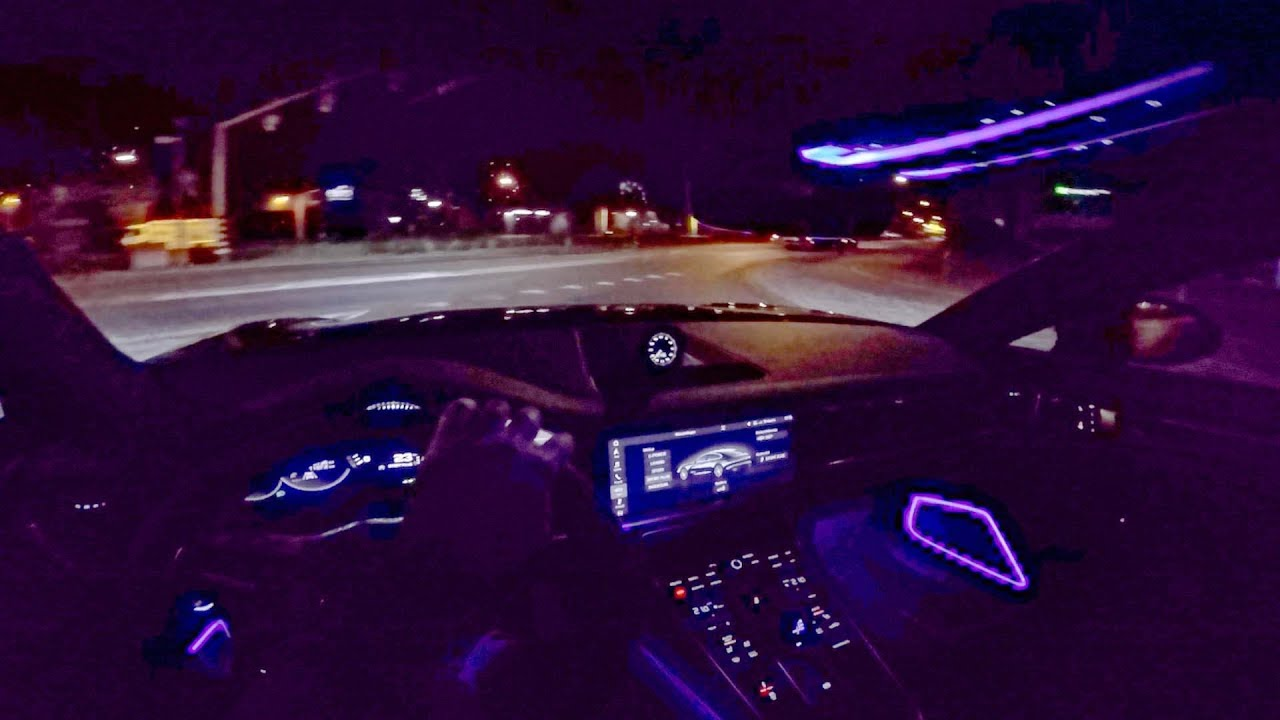 2018 Porsche Panamera Turbo S POV NIGHT DRIVE By AutoTopNL