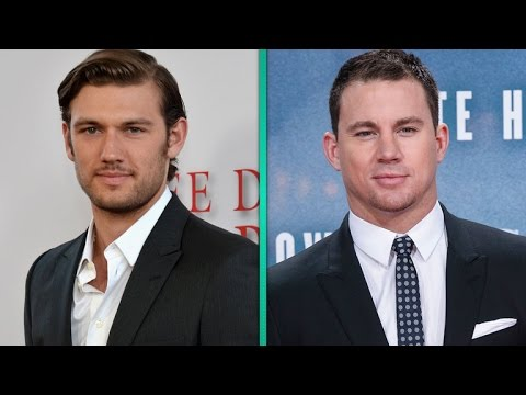 Alex Pettyfer Claims Channing Tatum Doesn't Like Him  Find Out Why
