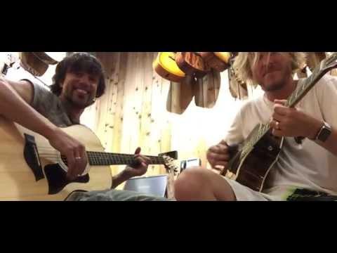 KWS and Noah visit Guitar Center