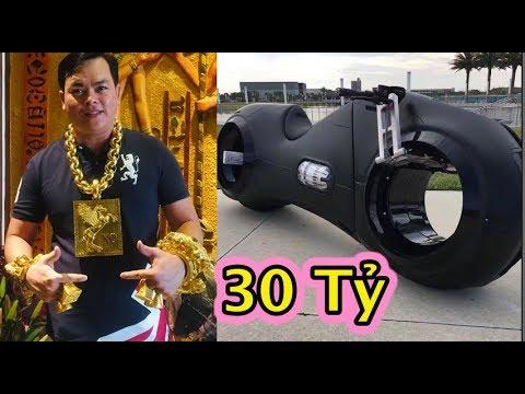 Phúc XO bỏ 30 tỷ mua xe mô tô