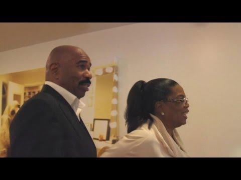 Oprah Winfrey Invites Steve Harvey to Tour OWN Headquarters