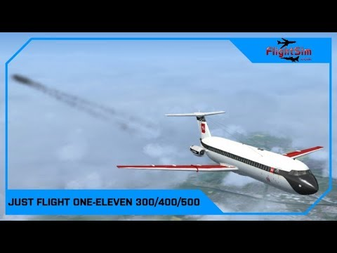 Just Flight BAC One-Eleven 300/400/500 Review