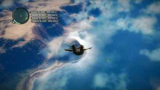 Just Cause 2 record base jump 6076 m