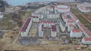 Севастополь. Застройка Античного проспекта. Февраль 2019