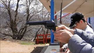 shooting the J.P. Sauer & Sohn pistol