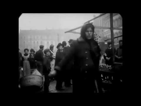 1905 - Street Scenes In Saarbrücken, Germany (speed Corrected W/ Added Sound)