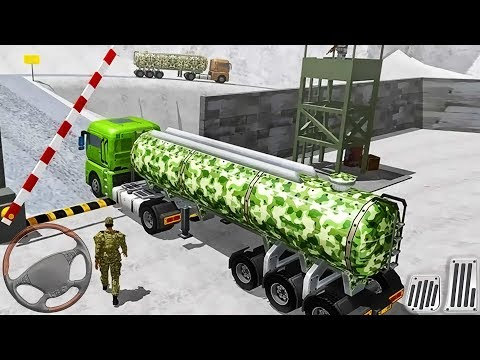 US Offroad Military Truck: Army Transport Driver - Android GamePlay