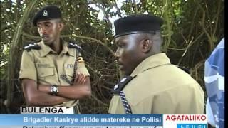 Brigadier Kasirye alidde matereke ne poliisi