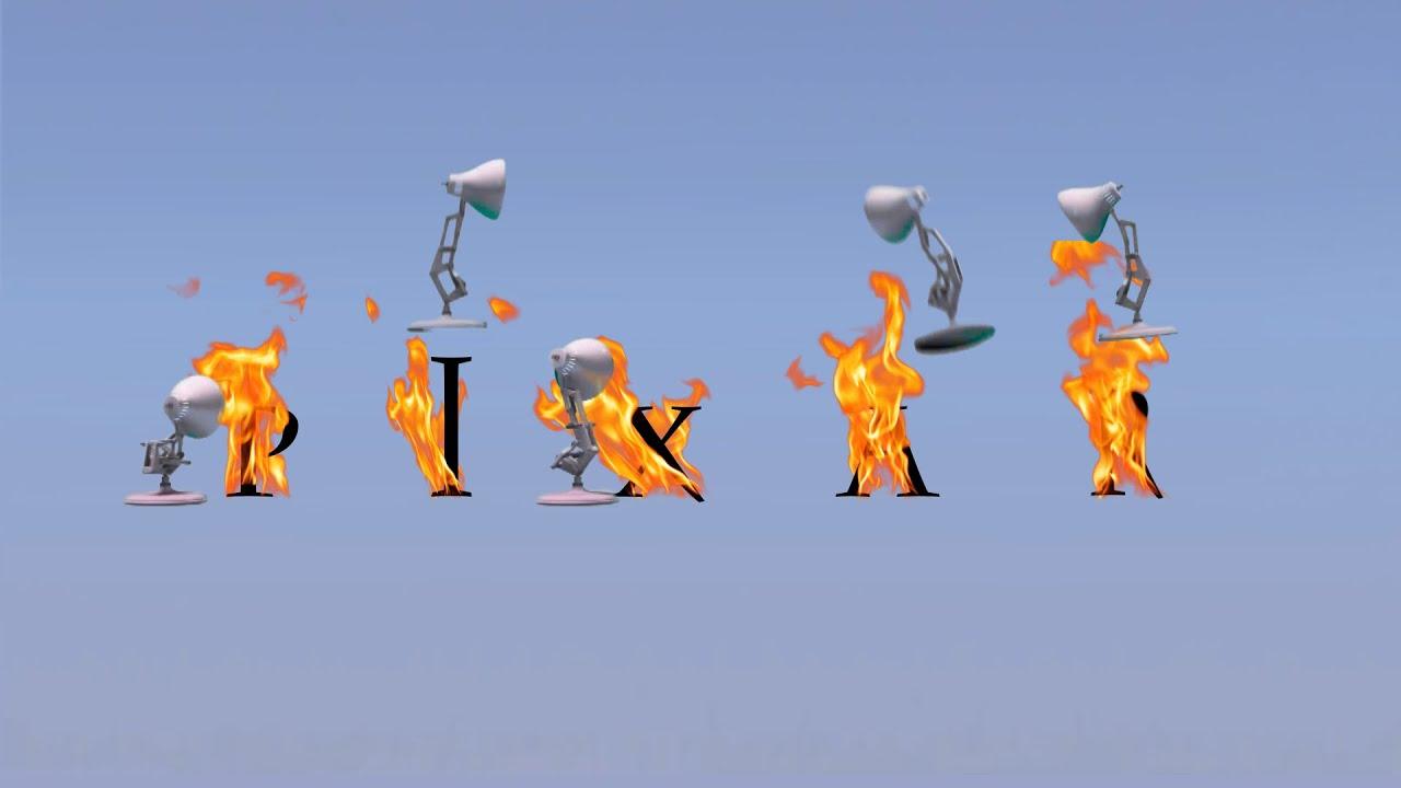 169 Five Pixar Lamps Fire Extinguished Spoof All Pixar