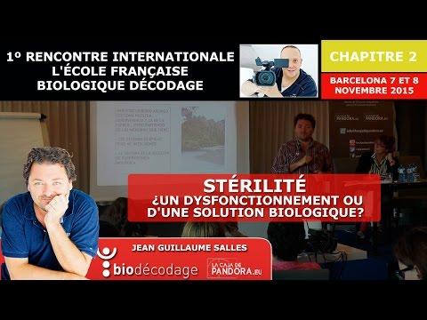 Stérilité , un Dysfonctionnement ou d'une solution biologique   Jean Guillaume Salles   Décodage bio