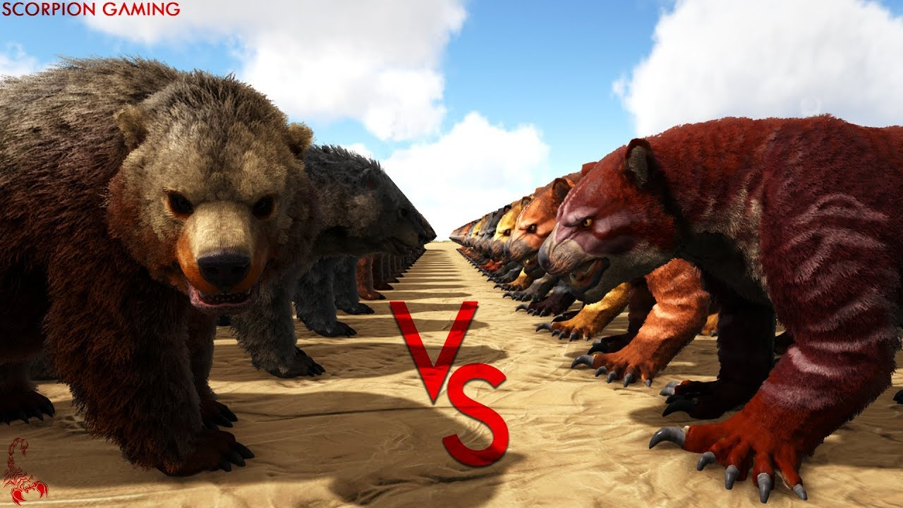 Daeodon Vs Thylacoleo Ark Battle Youtube Click the copy button to copy the entity id to your clipboard. youtube