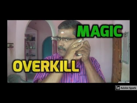 ONLINE TAMIL MAGIC I ONLINE MAGIC TRICKS TAMIL #531 I OVERKILL