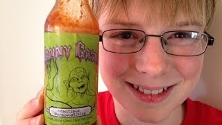 11-yr-old eats Multiple Personalities (rare hot sauce) : Hot Sauce Review, Crude Brothers