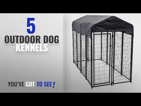 Top 5 Outdoor Dog Kennels [2018 Best Sellers]: Heavy Duty Dog Cage – Lucky Dog Outdoor Pet Playpen