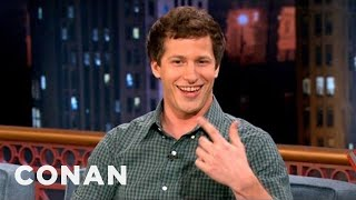 "Andy Samberg on Rahm Emanuel & ""That"