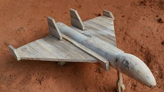 How to make a Bomber Jet. Bamboo material.