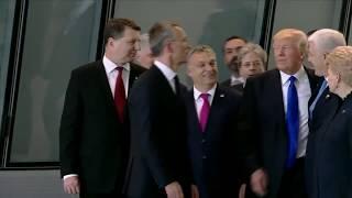 Трамп оттолкнул Марковича, премьера Черногории на саммите НАТО