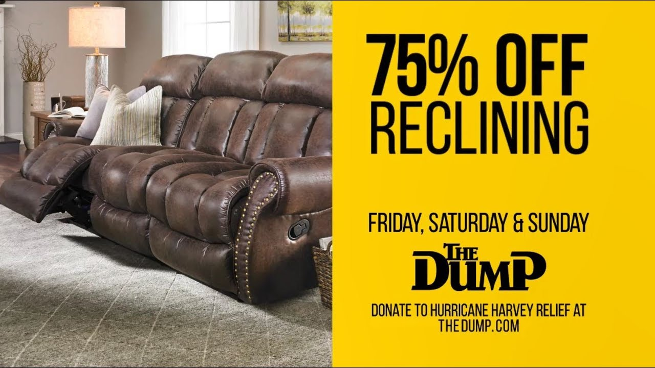 The Dump Houston: A Yearu0027s Worth Of Recliners Up To 75% Off