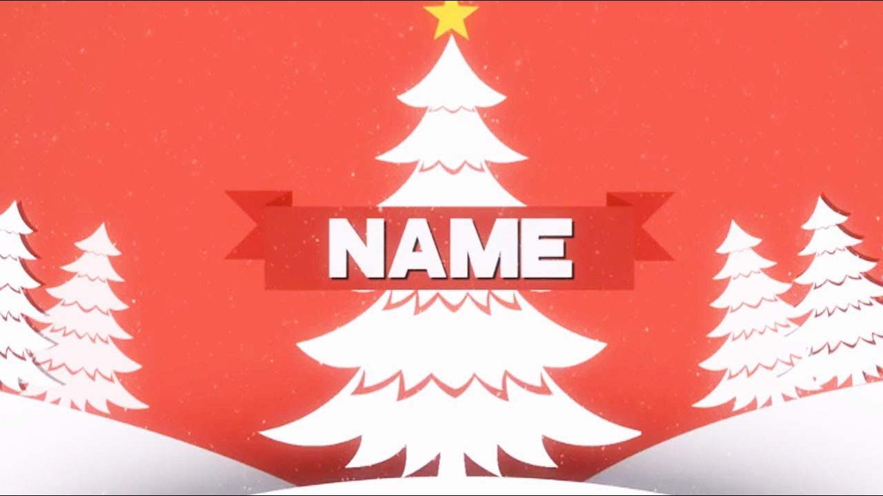 free christmas intro template #11 sony vegas pro - youtube, Powerpoint templates