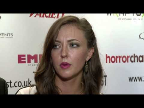 American Mary Katherine Isabelle & John Emmet Tracy Interview FrightFest 2012