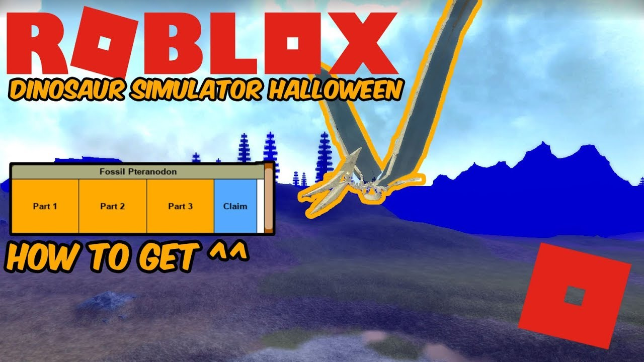 Dinosaur Simulator Halloween Event 2020 Where Is Fossil Utah Roblox Dinosaur Simulator Halloween   NEW UPDATE! How to Get