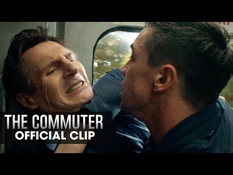 """The Commuter (2018 Movie) Official Clip """"Who Are You"""" – Liam Neeson"""