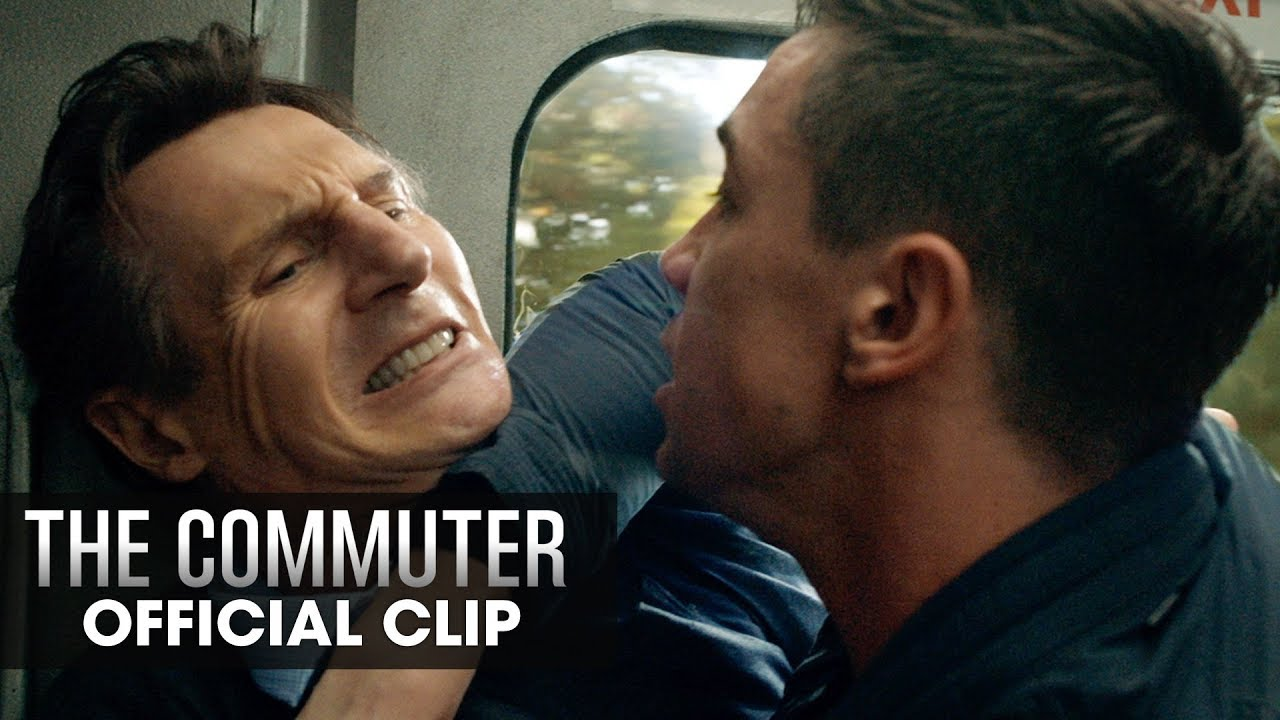 The Commuter 2018 Movie Official Clip Who Are You Liam Neeson