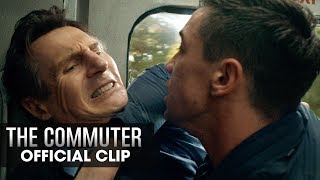 "The Commuter (2018 Movie) Official Clip ""Who Are You"" – Liam Neeson"