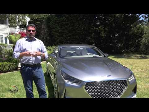 Hyundai Vision G Concept presentation by Chief Designer Chris Chris Chapman Part I