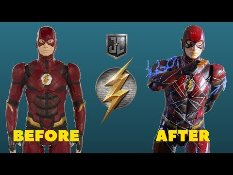 Jakks Pacific The Flash (Justice League) Makeover- Chris' Custom Collectables!
