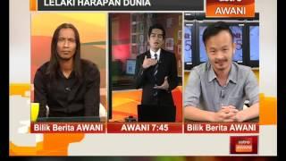 Lelaki Harapan Dunia : Bersama pengarah Liew Seng Tat dan Sofi Jikan