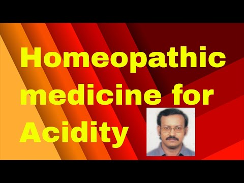 Homeopathic medicine for acidity problem/homeopathy treatment for acidity